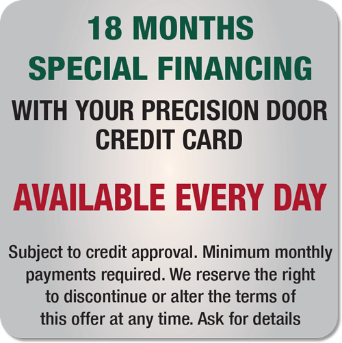 Financing  sc 1 th 225 & Precision Garage Door St. Louis | Repair Openers Garage Doors