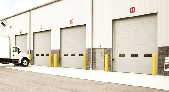 Precision Of St Louis Sectional Garage Doors